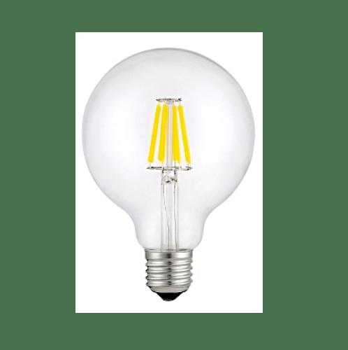 G-LAMP หลอด LED ฟิลาเมนต์ Globe 6W E27  ADS-DP43