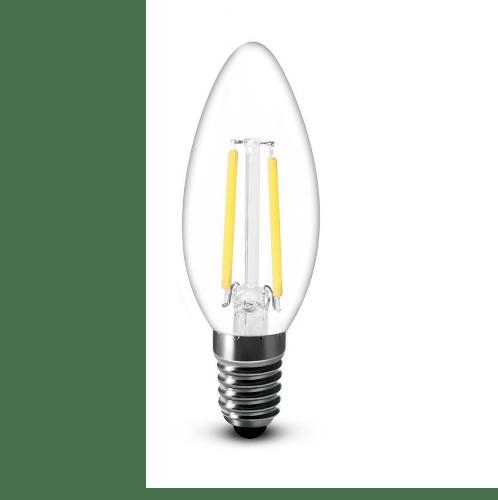 G-LAMP หลอด LED ฟิลาเมนต์ Candle   ADS-DP51 4W E27