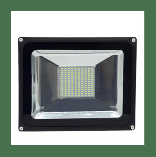 SYIIA โคมฟลัดไลท์ LED  เดย์ไลท์  HQ-LT50WTGD65 สีดำ