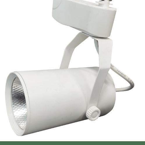 G-LAMP โคมไฟติดราง 9W Warmwhite ทรงกระบอก  -  สีขาว