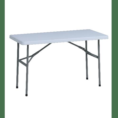 Tree O โต๊ะเอนกประสงค์ ขนาด 4ฟุต RB-2448-WH สีขาว