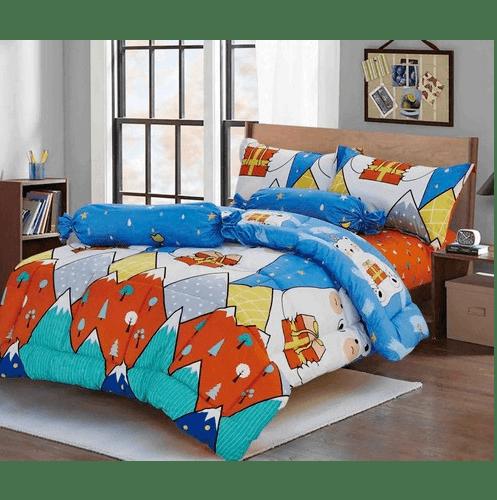 Truffle ชุดผ้าปูที่นอน กาลิโต้ 4 ชิ้น ขนาด 3.5 ฟุต  FSS35-403