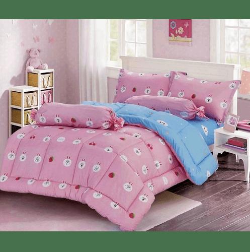 Truffle ชุดผ้าปูที่นอน กาลิโต้ 4 ชิ้น ขนาด 3.5 ฟุต FSS35-408