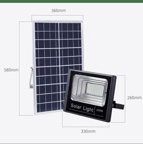 EILON โคมไฟฟลัดไลท์โซลาร์เซลล์ 200 W HQ-200WTGD-TYN