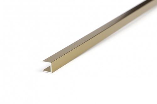 MAC กรุยเชิงอลูมิเนียม 10 มม. ยาว 2 เมตร 2DDY026-G สีแชมเปญ