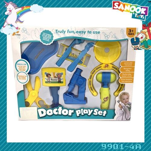 Sanook&Toys ชุดของเล่นอุปกรณ์เครื่องมือแพทย์  #9901-4A (27.5x34x4.5ซม.)