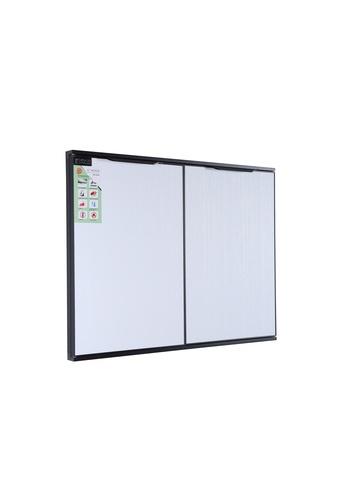 Koch Kitchen  บานซิ้งค์คู่ใต้เตาแก๊ส 84x52.5ซม. WHITE PURO-SDG สีขาว