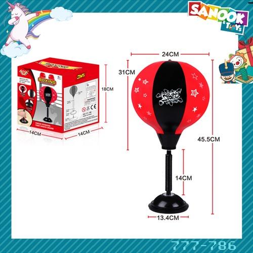 Sanook&Toys เป้าชกเด็ก #777-786 (18x14x14 ซม.) คละสี
