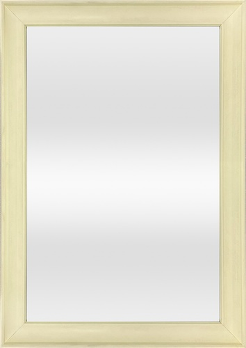 NICE กระจกมีกรอบ 40X60CM 1817-W1 สีขาว