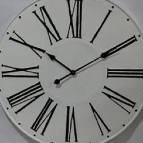 COZY นาฬิกาติดผนัง 73.5ซม.   DZD077 สีขาว