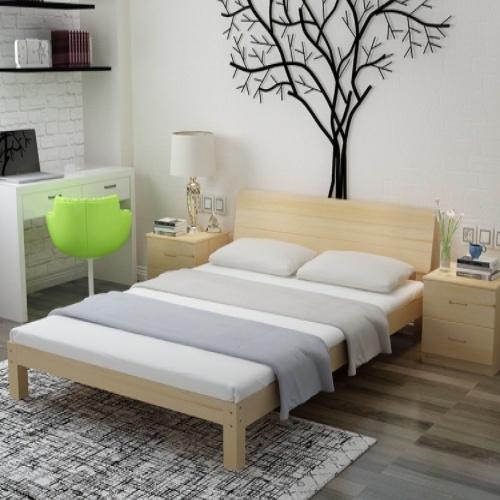 Truffle เตียงไม้สน 6ฟุต  NX-180