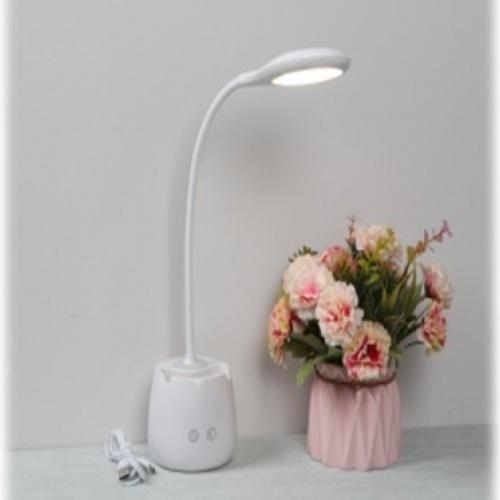 EILON โคมไฟตั้งโต๊ะ Modern   LE-1914  สีขาว