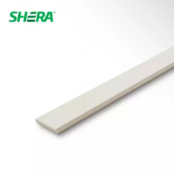 SHERA ไม้บัวเฌอร่า ขนาด 1.2x7.5x300 ซม. โมเดิร์น ผิวเรียบ สีธรรมชาติ