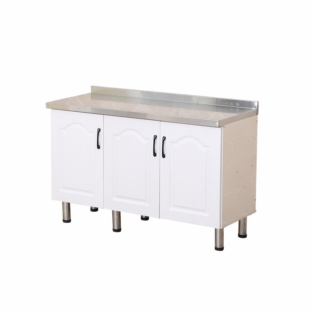 CLOSE ตู้ท็อปหน้าบานปิดผิว ขนาด 120×50×82ซม. KITCHY T-120  สีขาว