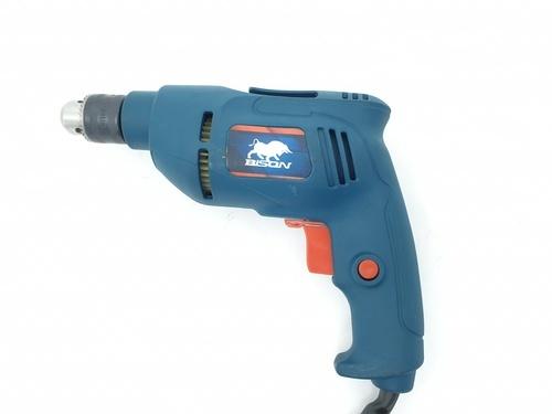 BISON สว่านไฟฟ้า 10mm. J1Z-FC01-10 550W สีฟ้า