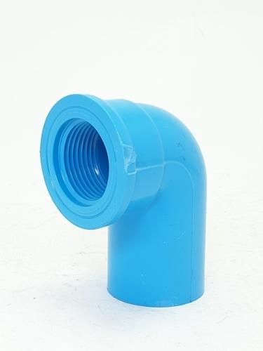SCG ข้องอ90 เกลียวใน-หนา 1นิ้ว(25) - สีฟ้า