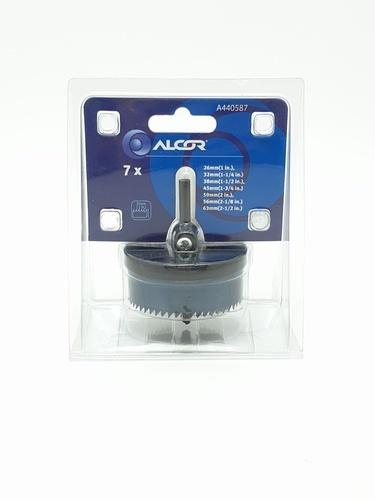 ALCOR ชุดโฮลซอ 7 ชิ้น   A440587  สีดำ
