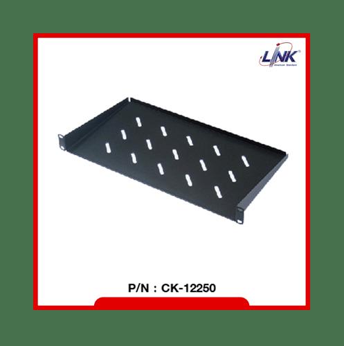 LINK ถาดวางอุปกรณ์ แบบยึดหน้าตู้ ความลึก 25 ซม.  CK-12250