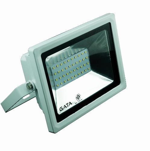 GATA โคมฟลัดไลท์ LED  20W Warm  (สว่างพิเศษ) สีขาว