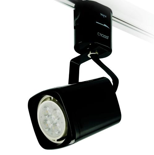 -  โคมTracklight LED ทรงเหลี่ยม(TL03)ฐานกระบอก  5W. Warm สีดำ