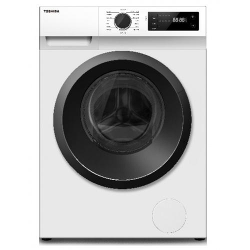 TOSHIBA เครื่องซักผ้าฝาหน้า 8.5 KG. TW-BH95S2T สีขาว
