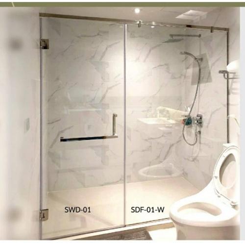 WS ฉากกั้นอาบน้ำบานสวิง  SWD-01/4 WS.