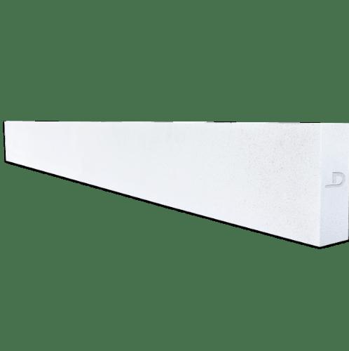ตราเพชร คานทับหลัง  ขนาด 20x300x10 ซม. สีขาว