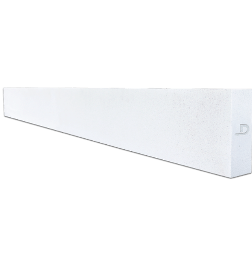 ตราเพชร คานทับหลัง ขนาด 20x330x7.5 cm สีขาว