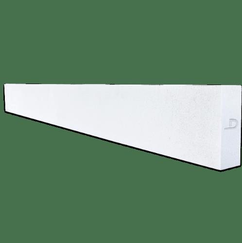ตราเพชร คานทับหลัง ขนาด 20x120x12.5 cm สีขาว