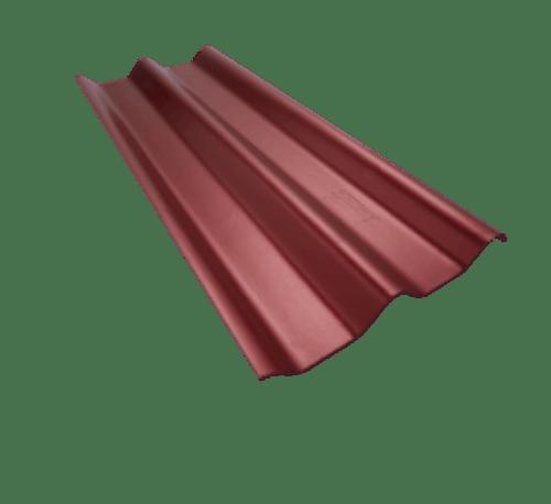 ตราเพชร ลอนคู่ตราเพชร ขนาด 0.5x50x150ซม.  สีแดงประกายเพชร แดง
