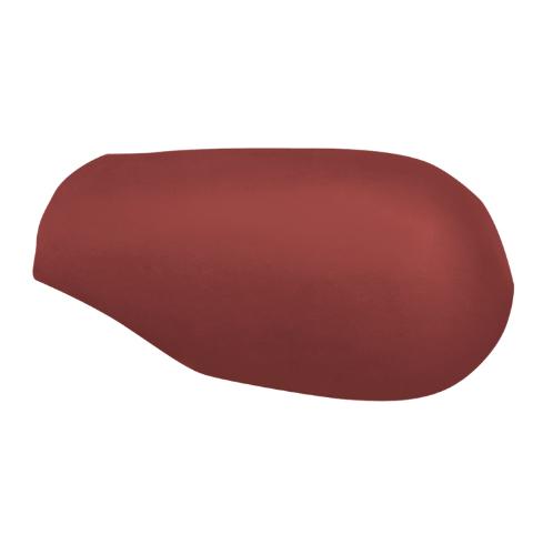ตราเพชร ครอบสันโค้งหางมนแบบเว้า กระเบื้องลอนคู่ ขนาด 23.5x40.5 ซม. สีแดงมั่งมี