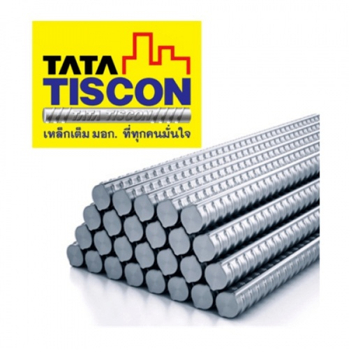 TATA TISCON เหล็กข้ออ้อย 12 mm SD40 มอก. สีดำ