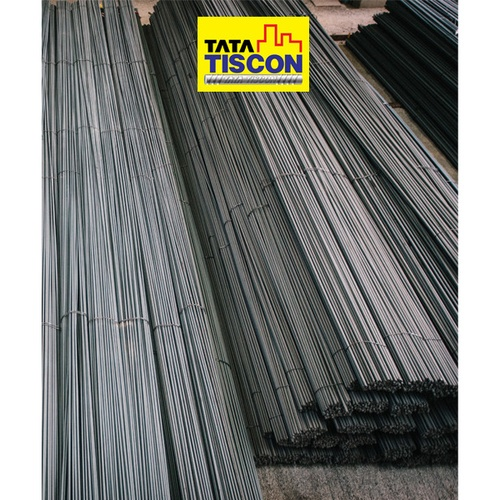 TATA TISCON เหล็กเส้นกลม 12mm SR24 มอก. สีดำ