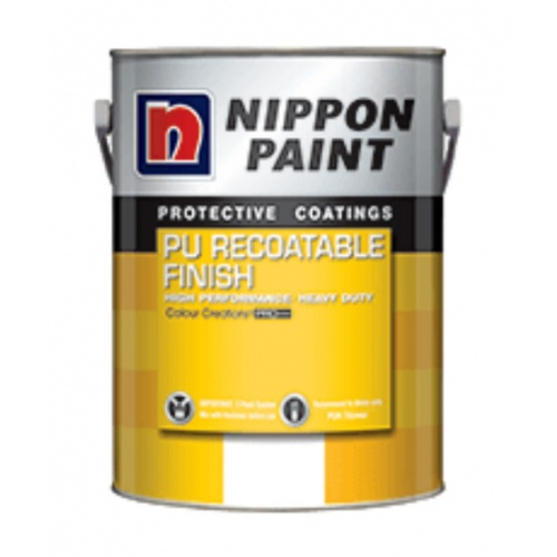 NIPPON พียูรีโค้ทเอเบิล ฟินิช    A+B เงา#Ral 2009 /ชุด สีส้ม