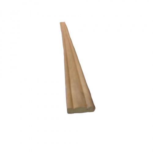 - คิ้วไม้สัก ขนาด  1/4นิ้ว x1นิ้ว x6.1/2ฟุต  SJK21