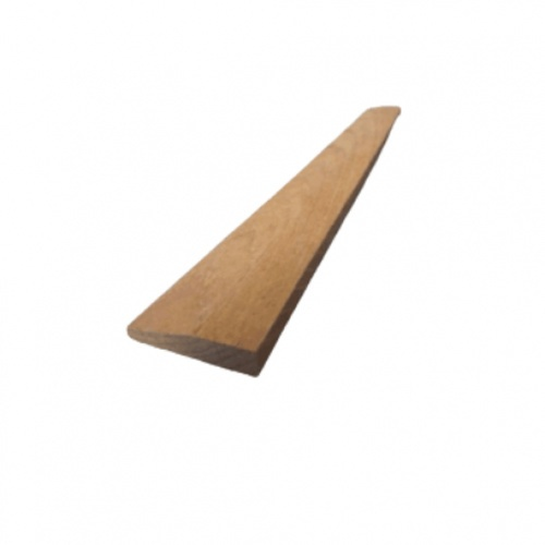 -  คิ้วไม้สักขนาด 3/8นิ้วx1.1/2นิ้ว x7.5ฟุต SJK23