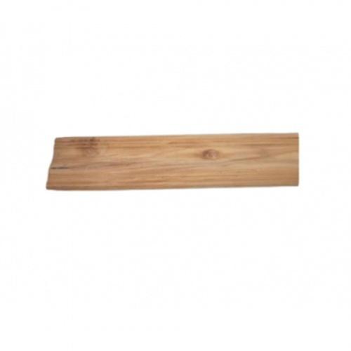 - ไม้บัวล่างไม้สัก(ลายร่อง) ขนาด  5/8นิ้ว x4นิ้ว x2.00ม. SJK63
