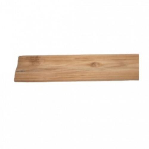 - ไม้บัวล่างไม้สัก(ลายโค้ง)  ขนาด 5/8นิ้ว x4นิ้ว x3.00ม. SJK62