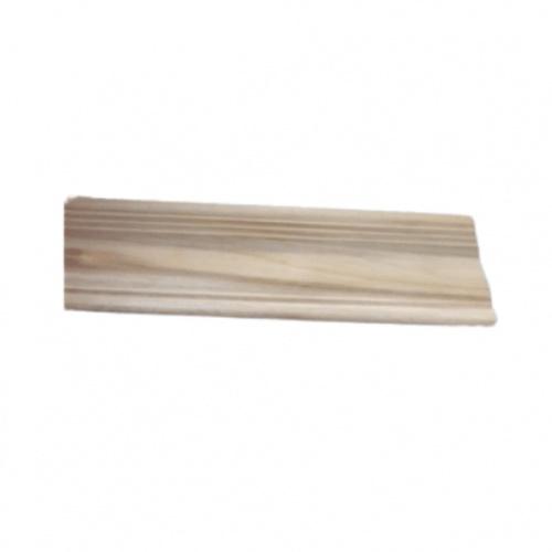- ไม้บัวบนไม้สัก (บัวฝ้า) ลายน้อย ขนาด  1/2นิ้ว x3นิ้ว x2.50ม. SJK54