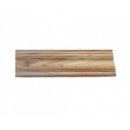 - ไม้บัวบนไม้สัก (บัวฝ้า) ลายมาก ขนาด 5/8นิ้ว x3นิ้ว x2.00ม. SJK56