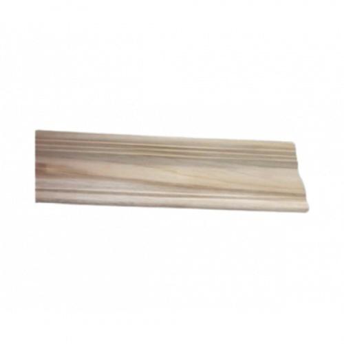 - ไม้บัวบนไม้สัก(บัวฝ้า) ลายร่องเงิน2  ขนาด  5/8นิ้วx4นิ้ว x1.80ม. SJK58