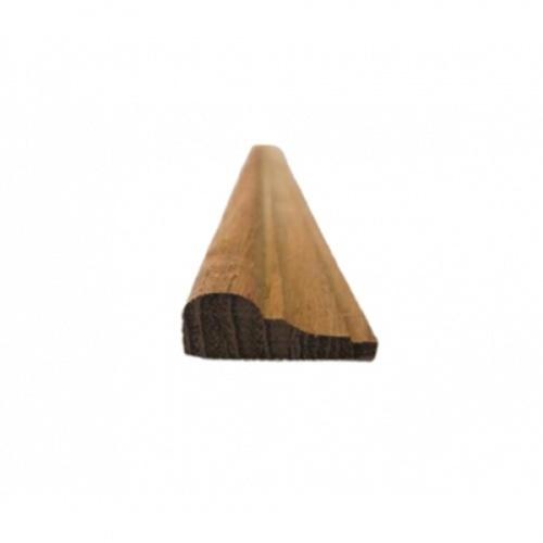 - ไม้คิ้วไม้สัก ขนาด 1/2นิ้ว x1นิ้ว x8.1/2ft SJK36