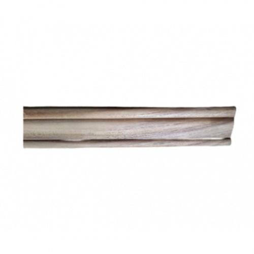 -  ไม้คิ้วตกแต่งไม้สัก(วงกบ) ขนาด  5/8นิ้ว x2นิ้ว x3.00ม. SJK40