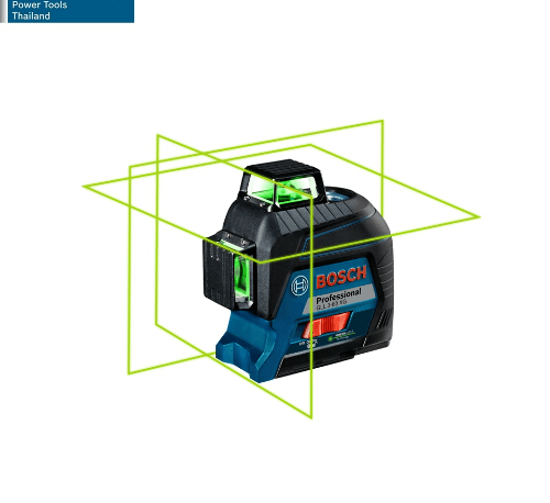 BOSCH เครื่องวัดระดับเลเซอร์ แสงสีเขียว GLL3-60XG  น้ำเงิน-ดำ