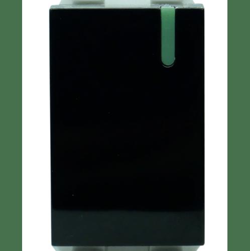 Gpower สวิทช์ทางเดียว 1 ช่อง  16A  CWS-111B สีดำ
