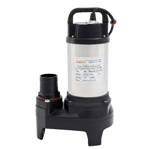 SUMOTO POMPA ปั๊มจุ่มน้ำสะอาด และน้ำเค็ม 200 วัตต์  INOX250 สีโครเมี่ยม
