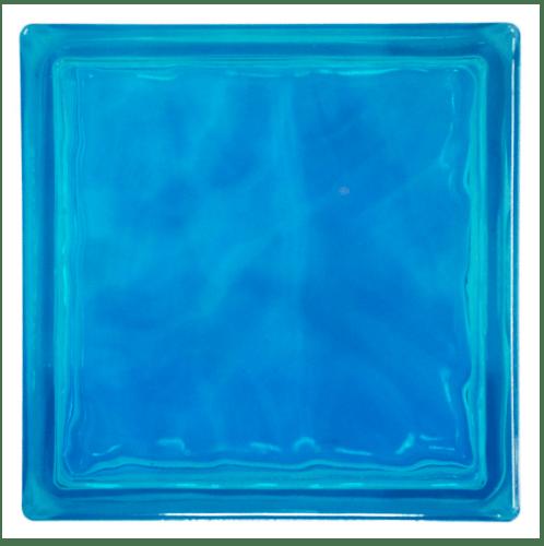 ช้างแก้ว บล็อกแก้วสี แก้วนภา  N-016/941  สีฟ้า