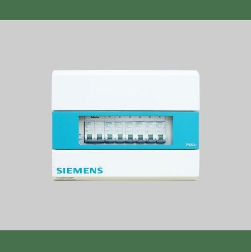 SIEMENS เครื่องตัดไฟอัตโนมัติ 6 ช่อง 63A SBTH06-S ขาว-เขียว