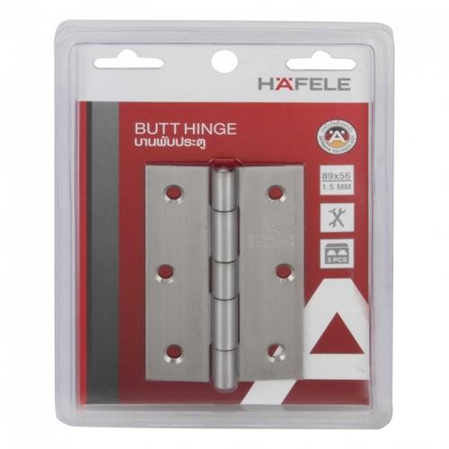 HAFELE HAFELE บานพับสแตนเลส แบบหัวหมุด 3.5 แพ็ค 3 ชิ้น 489.20.077 489.20.077