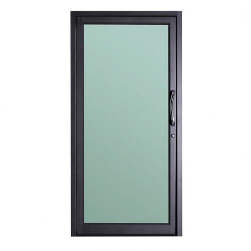 RKT ประตูบานสวิง 80x205cm.  สีดำ